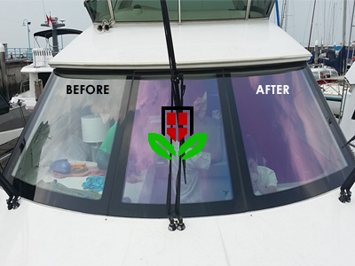 window films for yacht