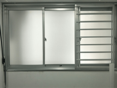 Frosted Films For HDB BTO Service Yard Windows